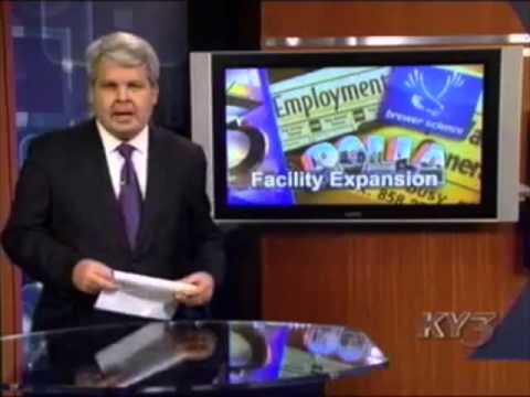 ky3news - KY3 News segment on the upcoming Brewer Science expansion near Rolla, Missouri.