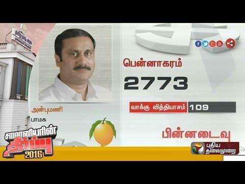 TN-election-Setback-for-PMK-CM-candidate-Anbumani-BJPs-H-Raja