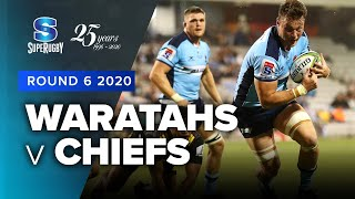 Waratahs v Chiefs Rd.6 2020 Super rugby video highlights | Super Rugby Video Highlights