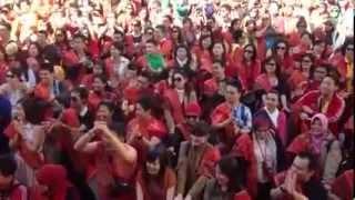 Tor-tor batak di Barcelona - Spanyol