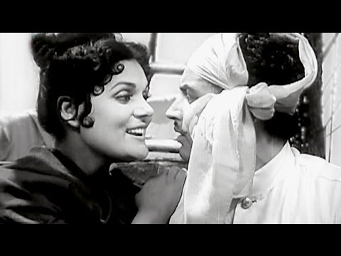 Guru Dutt, Johnny Walker, Baaz Scene - 6/11