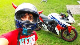 4. THE BEST STARTER MOTORCYCLE HONDA CBR500R