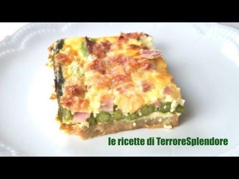 torta salata con asparagi - ricetta