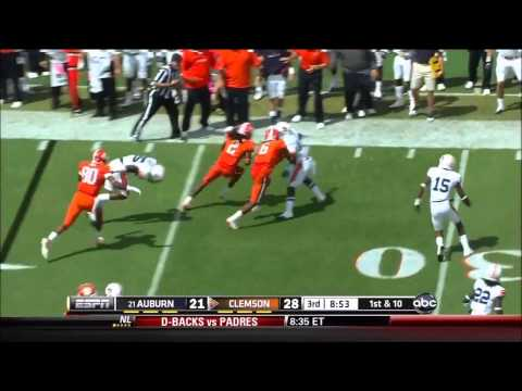 Sammy Watkins vs Auburn NC State and Wake Forest ('11 & '12) video.