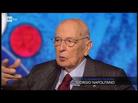 Giorgio Napolitano - Che tempo che fa 22/04/2018