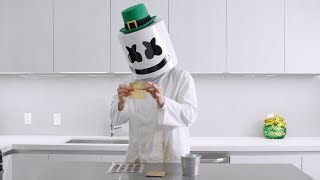 A Pot Full o' GOLD!! | Cooking With Marshmello (St. Patrick's Day Special - Chocolate Coins)