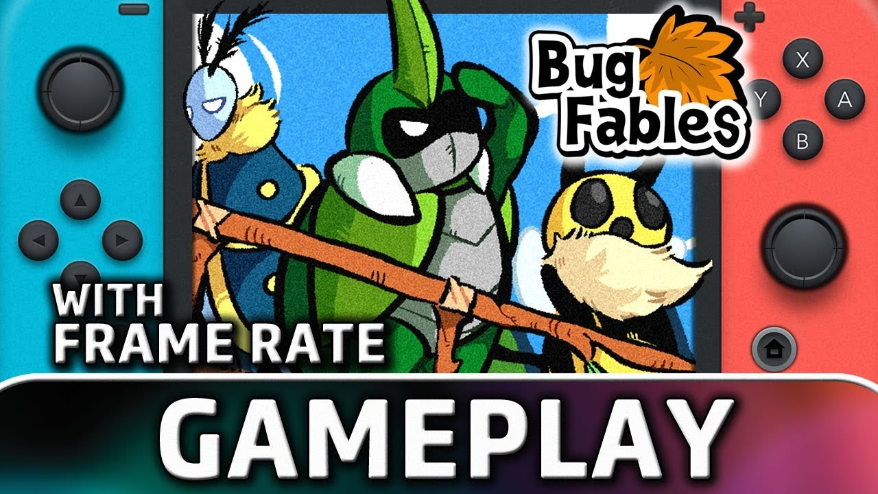 Bug Fables: The Everlasting Sapling | Nintendo Switch Gameplay and Frame Rate