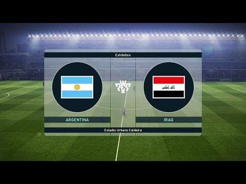Argentina vs Iraq 4-0   All Goals & Highlights 2018 HD
