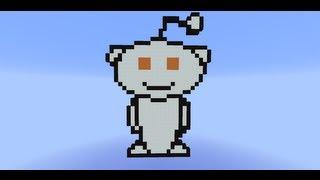 Reddit Alien Boss Fight -- SethBling's Second Reddit Cake Day