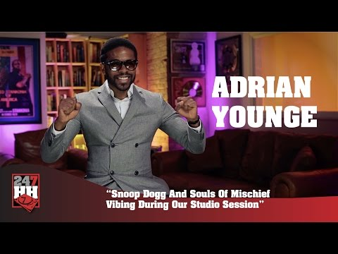 Adrian Younge - Snoop Dogg And Souls Of Mischief Vibing During Our Studio Session (247HH Exclusive)