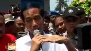 Sodetan Ciliwung BATAL , Jokowi