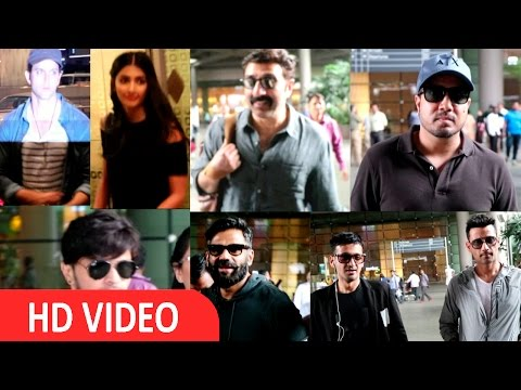 Hrithik Roshan,Sunny Deol & Many Celebs Spotted At Airport