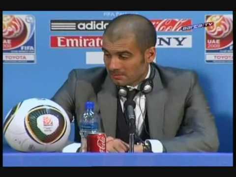 Pep interview. Entrevista a Pep Guardiola. Barça de les 6 copes