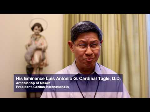 Cardinal Tagle for ANCOP Global Walk 2017