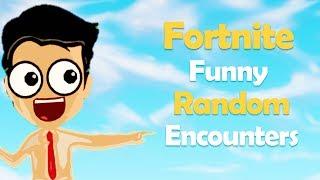 Goodbye Fortnite Season 4; Some of the Funniest Fortnite Random Encounters