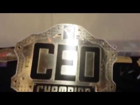 Making of the CEO national heavyweight world replica title belt