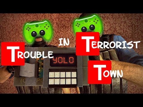 TTT # 71 - Paint the Wall «» Let's Play Trouble in Terrorist Town Garry's Mod | HD