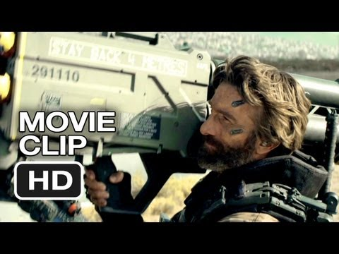 Elysium Movie CLIP - Undocumented Ships Inbound (2013) - Matt Damon Sci-Fi Movie HD