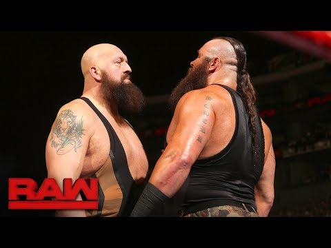 Big Show Vs Braun Strowman : RAW - FOX SPORT - PT BR