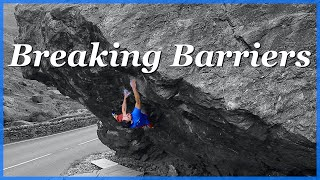 Breaking Barriers - Jerry's Roof 7c by The Climbing Nomads