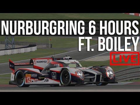 iRacing - iLMS 6 Hours Of Nurburgring | FT. Boiley, SouthPawRacer & Hodger