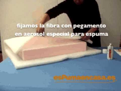 Goma espuma para tapizar videos videos relacionados - Goma espuma para tapizar sillas ...