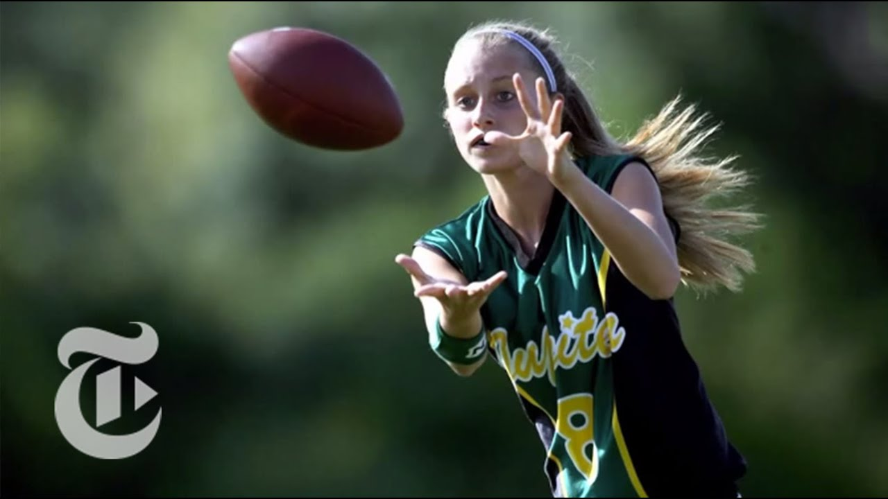 Sports: A Touchdown for Girls' Flag Football | The New York Times