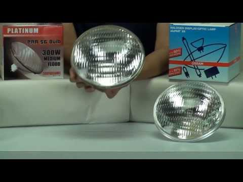 300 watt PAR56 light bulb differences