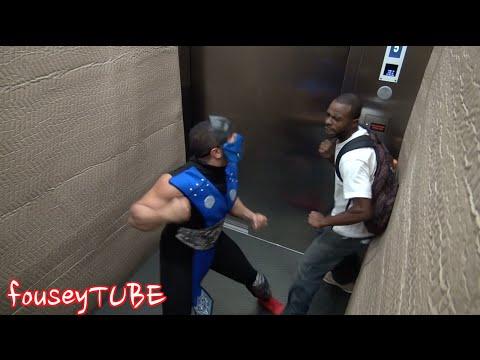 scherzo in ascensore - mortal kombat