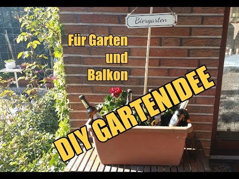 ▶︎ DIY Gartendeko BIERGARTEN selber machen! Garten + Balkon