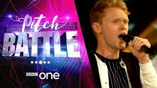 Pitch Battle website: http://bbc.in/2tspn3j Scot Soul, All the King's Men and Leeds Contemporary Singers take part in an a cappella battle.