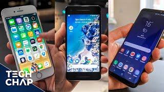 Google Pixel 2 vs Galaxy S8 vs iPhone 8 - Best Phone? | The Tech Chap