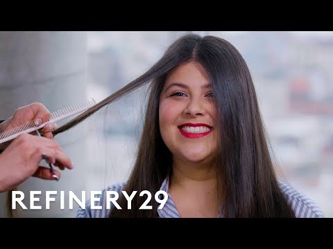 I Chopped Off 12 Inches Of Hair To Look Like Kendall Jenner | Hair Me Out | Refinery29