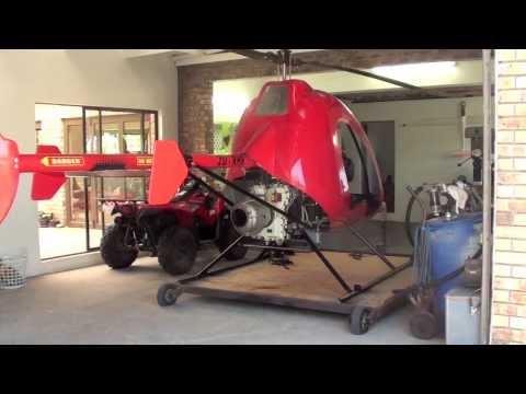 Ultra Sport 496 Turbine Helicopter (видео)
