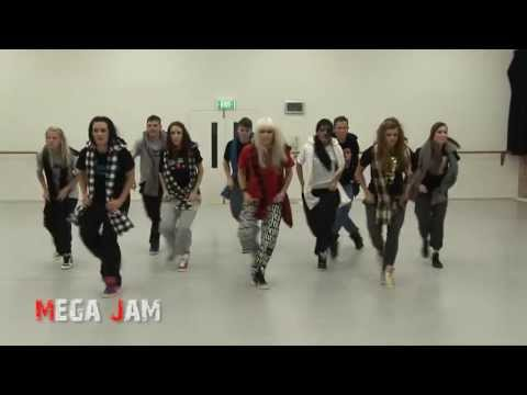 ft. - Hip hop dance class with Jaz..... video taken at the end of class..... We are located in Brisbane, Australia http://www.megajam.com.au 