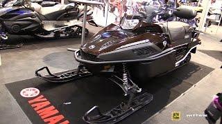 8. 2016 Yamaha VK Professional II Sled - Walkaround - 2015 Toronto Snowmobile & ATV Show