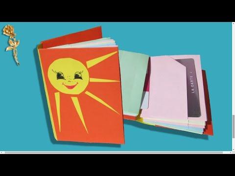 Origami : 📓 Carnet-organiseur, Porte-cartes 💳
