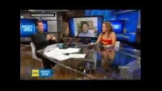 Nonton Jawn Murray Talks New Wonder Woman on HLN's