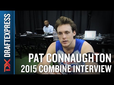 Pat Connaughton 2015 NBA Draft Combine Interview