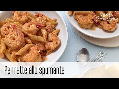 pennette allo spumante - ricetta