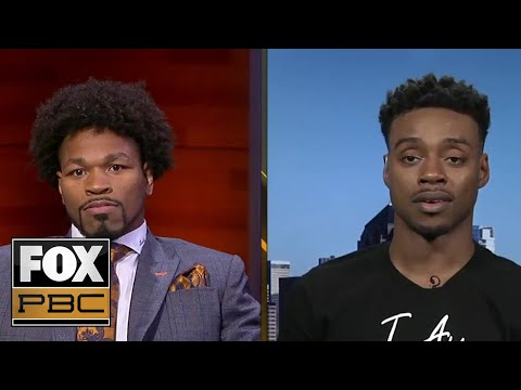 Errol Spence Jr. chats with Shawn Porter days before their unification fight | INSIDE PBC BOXING