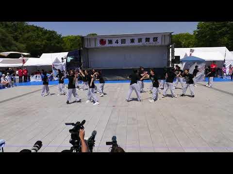 町田市立南大谷中学校ダンス部レインボークルー・2018第4回東京舞祭『春』 21日(土)第一部