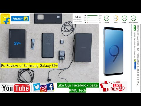 Samsung Galaxy S9 + worth buying from #Flipkart | only Rs 22500 in 2020 #Re-review |