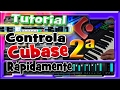 Tutorial Cubase español,iniciacion. Parte 2 de 3.Grabacion de audio. Efectos...