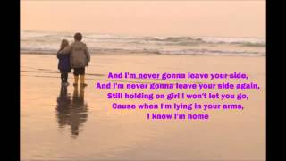 Never Gonna Leave Your Side - Daniel Bedingfield Video