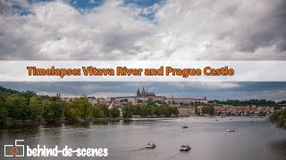 Timelapse: Vltava River and Prague Castle