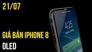 iPhone 8 mới đây đã khiến mọi người thỏa tò mò khi xuất hiện giá bán. Tuy nhiên các fan có vẻ sẽ hụt hẫng vì giá iPhone 8 khá là chát. Bên cạnh đó là các thông tin liên quan đến Oppo A77, Zenphone 4 và Nokia 8---Channel: https://www.youtube.com/user/TGDDVideoReviewsWebsite Thế Giới Di Động: https://www.thegioididong.com