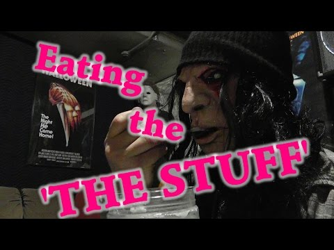 Eating The Stuff  (from The 1985 Movie 'The Stuff' By Larry Cohen)