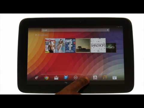 How to find your way around your Samsung Google Nexus | Android tablet tutorials | The Human Manual