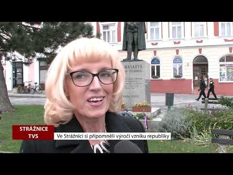 TVS: Strážnice - Ve Strážnici si připomněli výročí vzniku republiky